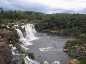 Cachoeira na Serra do Cipó.