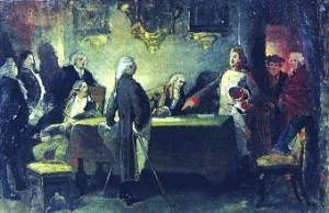 Reunião secreta dos participantes do movimento (Pedro Américo, 1892-93)