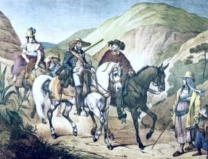Habitantes de Minas Gerais c. 1820