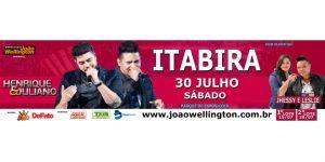 Henrique & Juliano em Itabira @ Pq de Exposições | Itabira | Minas Gerais | Brasil