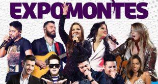 Venda de ingressos para Expomontes começa quinta, 25 de maio