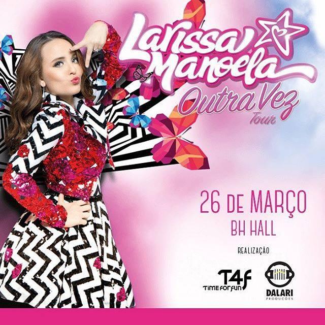Larissa faz parte de uma nova geração de artistas com múltiplos talentos   cantora, dubladora, atriz de TV, cinema e teatro musical. 3f8215f574