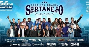 Festival Brasil Sertanejo 2017 apresentará mais de 14 horas de shows em BH