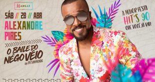 Alexandre Pires comanda O Baile do Nêgo Véio em Belo Horizonte